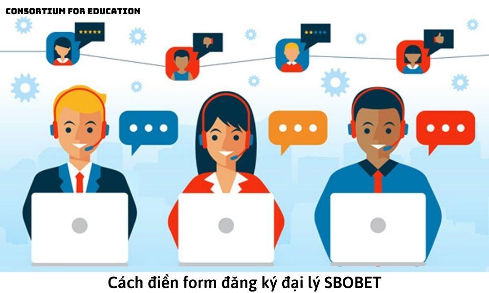 Cách điền form đăng ký đại lý SBOBET