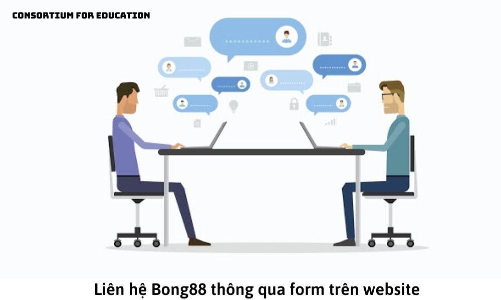 Liên hệ Bong88 thông qua form trên website