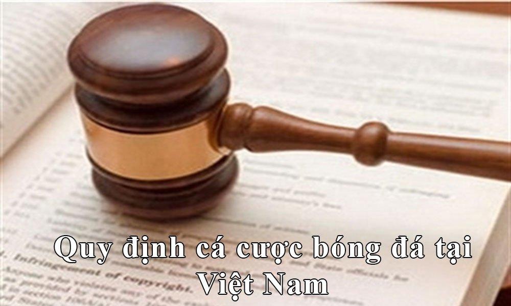 Quy định cá cược bóng đá trực tuyến tại Việt Nam